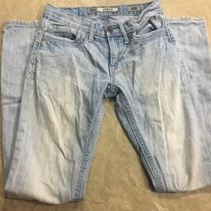 Buckle BKE Aiden Light Wash Bootcut Jeans 26R